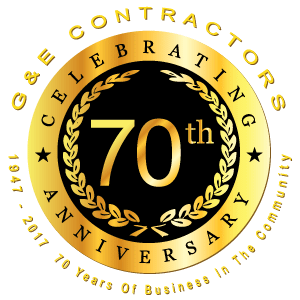 G&E Contractors - 70 Years In Business